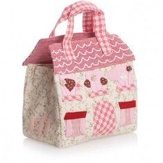 Powell Craft Mouse House Handmade Applique Bag at Childrensalon.com