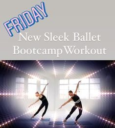 Get the famous Sleek ballet body results with this awesome 30min ballet based, full body workout.