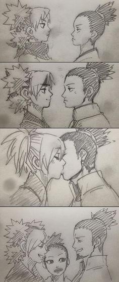 Shikamaru Nara x Temari / Naruto Otaku Anime, Anime Naruto, Naruto Comic, Naruto Cute, Naruto Funny, Manga Anime, Naruto Uzumaki Shippuden, Naruto And Shikamaru, Shikadai