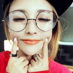 Men/women Round Sunglasses Retro Metal Frame Eyeglasses Korean Glasses Optical Circle Plain Mirror #jewelry, #women, #men, #hats, #watches, #belts