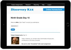 Discovery k12 ... free, secular online homeschool curriculm