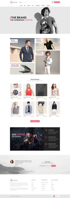 "Check out my @Behance project: ""Fashion Html Website"" https://www.behance.net/gallery/41680997/Fashion-Html-Website"