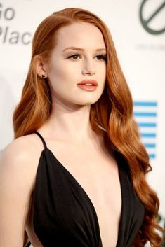 Madelaine Petsch dark blonde ginger hair ~~ 21 celebrity redheads to inspire your next hair color