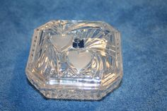 Crystal Clear Industries Leaded Dish With by Castawayacres on Etsy
