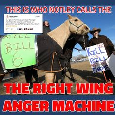 "Rachel Notley refers to Alberta Farmers who peacefully protested against Bill 6 as the ""Right Wing Anger Machine"". Watch this video by Sheila Gunn Reid https://youtu.be/6-Tl8yynrHo.  #UniteAlberta #KillBill6 #ABPoli #ABGov #ABLeg #ABAngerMachine #ABLeg #ABPoli"