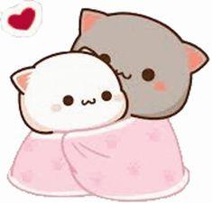 Cute Cartoon Images, Cute Cartoon Wallpapers, Cute Images, Cartoon Jokes, Cartoons, Bear Gif, Chibi Cat, Cute Kawaii Animals, Cute Words