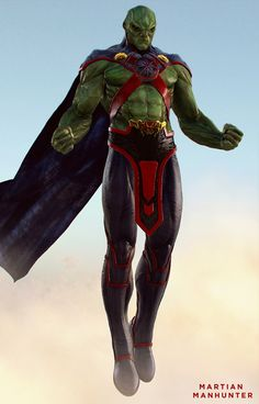 We've got a really cool character illustration of DC Comics' Martian Manhunter for you to check out! The character design comes from CGHUB artist Ballo