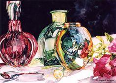 Academy of Art University News | Alumni Spotlight: Joyce Faulknor Publishes Watercolor Book