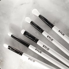 The limited-edition KYLIE brush set is launching Cyber Monday! $35