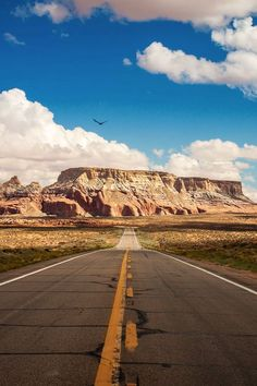 Arizona; I've been on this road before...pretty dull on scenery to the left and right...but man I miss it.