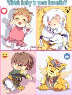 Baby Card Captor Sakura