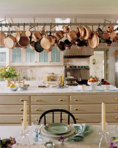 """See the """"Martha's Kitchen at Turkey Hill"""" in our Neutral Rooms gallery"""