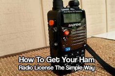 How To Get Your Ham Radio License  Investing in getting a Ham licence could mean the difference in life or death. In some cases anyway! What is a Ham Radio? A Ham radio is a way you can communicate from the top of a mountain, your home or behind the wheel of your car. You can take radio wherever you…