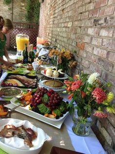 Duke's Baby Shower Food Table