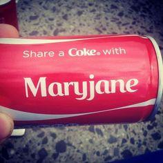 Share a coke with maryjane