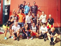 This crew, the Running Junkies, ran 22km at Ameland
