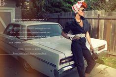 Lucille Ball shoot by Sean Armenta for Bello magazine.