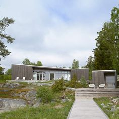 AH#002 | Arkitekthus Inspired Homes, Facade, Minimalism, Villa, Layout, Cottage, Architecture, Places, Garden
