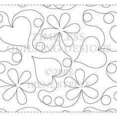 """Willow Leaf Studio - HEARTS IN BLOOM 12"""", $16.50 (http://www.willowleafstudio.com/hearts-in-bloom-12/)"""