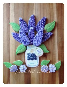 Fresh picked Lilacs | Cookie Connection