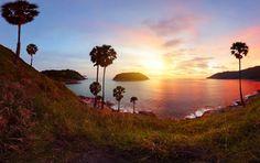#Sonnenuntergang auf #Phuket