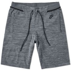 Buy the Nike Tech Knit Short in Cool Grey, Dark Grey & Black from leading mens fashion retailer END. Men's Activewear Shorts, Mens Activewear, Nike Tech, Nike Ad, Knit Shorts, Chor, Active Wear For Women, Monokini, Summer Outfits