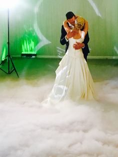 Why don't you book dancing on clouds for that wow factor for your first dance