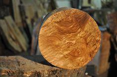 """Myrtlewood Turning Blank/Lathe/Bowl Stock 5.5"""" Diameter 3.125"""" Deep"""