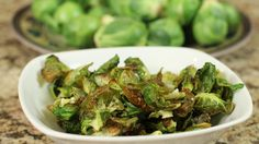 Brussel Sprout Chips - Clean Healthy Delicious Snack! -- Watch Rockin Robin create this delicious recipe at http://myrecipepicks.com/2323/RockinRobin/brussel-sprout-chips-clean-healthy-delicious-snack/