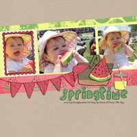 A Project by taniashaw from our Scrapbooking Gallery originally submitted 04/03/12 at 05:10 PM