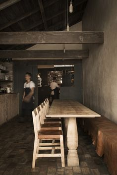 The Modern Farm Table, Sydney-Style / Remodelista