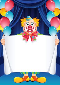 Free Latest Happy Birthday Wishes Cards and Greetings Clown Crafts, Carnival Crafts, Halloween Crafts, Diy And Crafts, Crafts For Kids, Happy Birthday Clown, Late Happy Birthday Wishes, Art Birthday, Birthday Cards