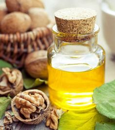 10 Amazing Benefits Of Walnut Oil For Skin, Hair And Health, Walnuts have always been known as a great source of fatty acids. They were consumed as nuts since time immemorial. Over the last few decades we have, Walnut Oil Benefits, Walnut Butter, Walnut Recipes, Butter Oil, Health Heal, Oils For Skin, Different Recipes, Natural Medicine, Natural Healing