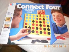 Connect Four. Loved this game as a kid. I bought one just a few months ago and they don't make it like they use to. Disappointing.