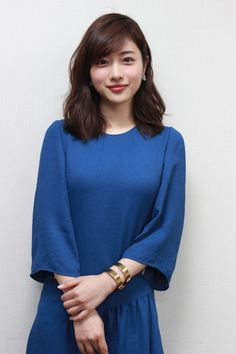 Satomi Ishihara (born: December Tokyo, Japan) is a Japanese actress. Japanese Beauty, Asian Beauty, Japanese Girl, Asian Woman, Asian Girl, Prity Girl, Long Hair With Bangs, Casual Hairstyles, Cute Beauty