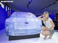Ford Focus, ice sculpture!