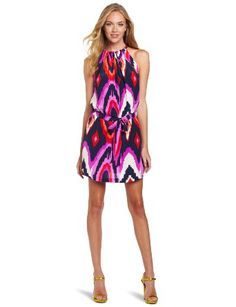 Alice & Trixie Women's Jillian Waist Print Dress