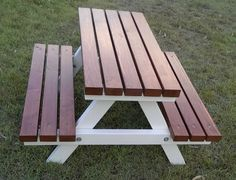 "1-5 years - Quality Handmade Kid's Timber Picnic Table - ""Mini"" Colonial 