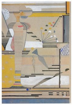 Design for a wall hanging  Bauhaus Dessau, 1929 - Gunta Stölzl
