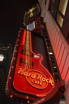 VISIT: Hard Rock Cafe, NYC by Dariowaty, via Flickr