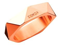 Bague Kenzo. Bijoux créateurs. En vente en boutique et sur notre site internet : http://www.bijouterie-influences.com/search.php?search_query=folds+kenzo