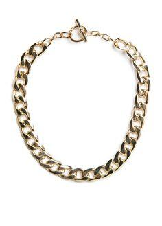 MANGO - Accessoires - Sieraden - Halskettingen en hangers - VLAKKE SCHAKELKETTING