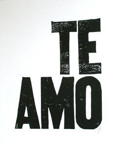 te amo #love
