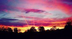 Západ slunce v Osvětimi