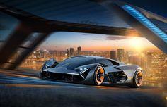Lamborghini Collaborates with MIT On Future EV Sports Car -