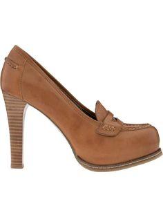 platform penny loafers!