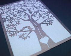 laser cut wedding invitation - Buscar con Google