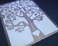 laser cut wedding invitation - Buscar con Google