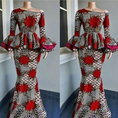Latest Ankara Styles African print fashion Ankara fall fashion African Dress Custom made Ankara dress Homecoming dress Winter fashion African wedding guest Kitenge dress Melanin Popping tribal clothing Prom 2019 Christmas gift. Ankara Skirt And Blouse, African Maxi Dresses, African Fashion Ankara, African Fashion Designers, Latest African Fashion Dresses, African Dresses For Women, Ankara Dress, African Print Fashion, Africa Fashion