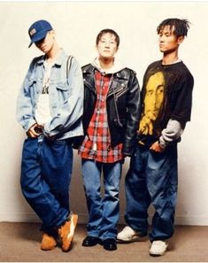 Early Kpop juggernauts, Seo Tajo and The Boys - A brief history of Kpop – F Yeah History Trendy Mens Fashion, Pop Fashion, Fashion Outfits, Early 2000s Fashion, Asian American, How To Look Pretty, Vintage Outfits, Street Wear, Kpop